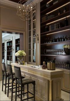Built in and bar design, Millwork...