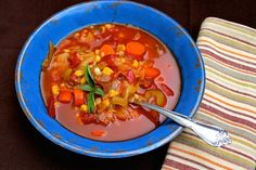 Make homemade vegetable soup pressure cooker fast! Delicious flavor in less than thirty minutes is easy with an electric pressure cooker!