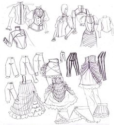 how to draw anime clothes - Buscar con Google