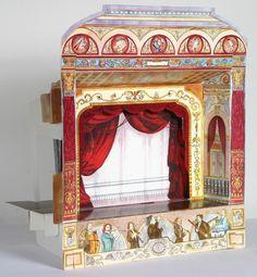 "Paper theater "" Budapest Opera House"" $18"