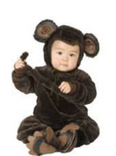 Baby Little Monkey Costume -Baby Boy Costumes -Infant, Baby Costumes -Baby, Toddler Costumes -Halloween Costumes - Party City