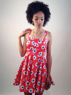 Coral Daisy Dress   Smak Parlour