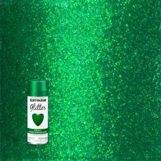 Kelly Green Glitter Spray provides an intense sparkling finish for any interior craft or decorative project. Unique glitter paint can be layered for a deeper effect and Glitter Paint Craft, Gold Glitter Spray Paint, Rust Oleum Glitter, Craft Paint, Aerosol Spray Paint, Paint Keys, Orange Glitter, Painting Plastic, Foam Crafts