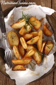 Skinny Cumin Potatoes   Healthy Comfort Food   Only 77 Calories   Super Satisfying   For MORE RECIPES, fitness & nutrition tips please SIGN UP for our FREE NEWSLETTER www.NutritionTwins.com