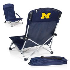 Use this Exclusive coupon code: PINFIVE to receive an additional 5% off the University of Michigan Tranquility Beach Chair at SportsFansPlus.com