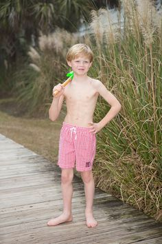 Cute bathing suit for boys!  Crescent Moon Children