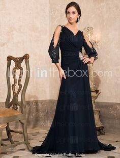 URSA - Vestido de Noche de Gasa - EUR € 161.69