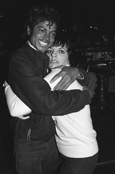 Michael Jackson & Liza Minnelli, 1980