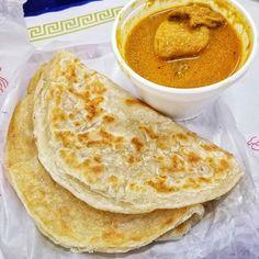 Had to get the Roti Canai with Chicken and Potato #Curry from @penangstreet99 inside @99ranchmarket  -- #Roti #Flatbread #Malaysian #Indian #Food #Foodie #Instafood #FoodPorn #Foodstagram #Penang #PenangStreetSoutheastAsianKitchen #99RanchMarket #Hackensack #NewJersey #NJ #FoodCourt #JerseyEats #Eeeeeats #FoodPics #FoodBlogger #FoodBlog #DesiredTastes