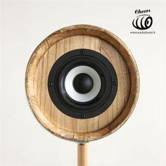 Cheers 3'' Raw Front - Botte Marsalese di Castagno 3L - 50W 8Ω  Cheers è l'innovativo diffusore acustico ad alta fedeltà brevettato © Exend.it #AudioBotti, #AudioBarrel, #BottiAcustiche, #WineSpeakers #HiFi Barrel, Home Appliances, 3, Cheers, Audio, House Appliances, Barrel Roll, Barrels, Appliances