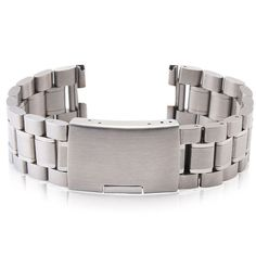 Emideals Stainless Steel Watch Strap Band for Pebble Time / Pebble Time Steel Smart Watch * Read more reviews of the product by visiting the link on the image. (This is an affiliate link and I receive a commission for the sales)