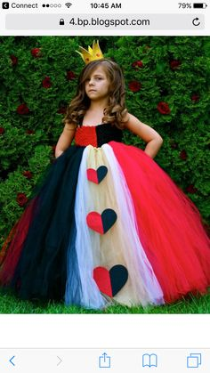 Tutu Queen of Hearts from styleitchic blog
