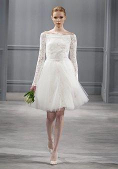 Monique Lhuillier Jolie Dress Wedding Dress - The Knot