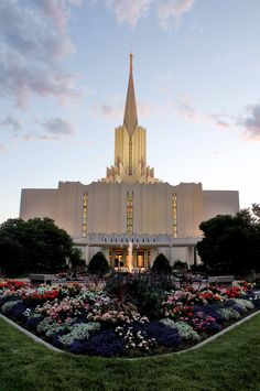 Jordan River Temple: I served here to help with open house tours as a teen; I also attended it's dedication with my mother. Later, I was blessed to attend with my three children as they performed baptisms for the dead.