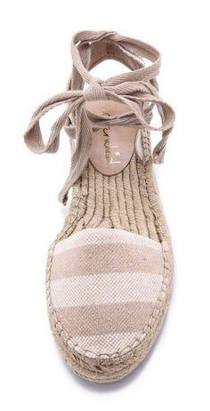 Stitch Fix Spring love espadrilles, reminds me of my high school fashions Pretty Shoes, Cute Shoes, Me Too Shoes, Cute Sandals, Shoes Sandals, Wedge Sandals, Striped Espadrilles, All About Shoes, Kinds Of Shoes