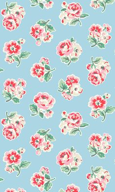 Ashdown Rose   We've coloured our favourite roses in classic shades but drawn them in a graphic style and placed them in a scattered layout, creating a fresh floral with a crisp modern feel   Cath Kidston Autumn Winter 2016