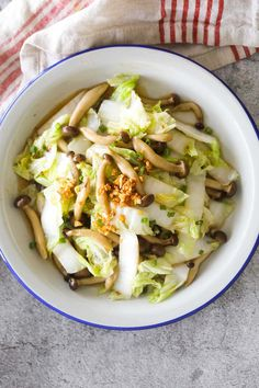 Stir Fry Napa Cabbage, Napa Cabbage Recipes, Napa Cabbage Salad, American Food, American Recipes, Asian American, Cabbage Nutrition, Homemade Sausage Recipes, Chinese Stir Fry