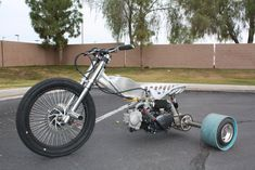 Our custom motorized drift trike