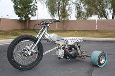 Our custom motorized drift trike