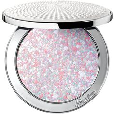 Guerlain Meteorites Voyage Pearls of Powder Refillable Compact, Spring... found on Polyvore featuring beauty products, makeup, face makeup, face powder, no color and guerlain