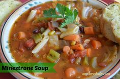 Tasty Tuesday:  Minestrone Soup