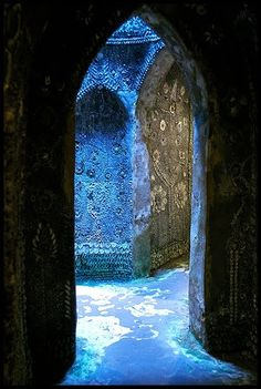 Margate, shell grotto in Kent, England.  Link has fascinating story about the site which is open to the public.