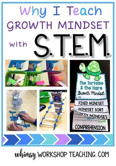 Read about how I began teaching Growth Mindset and STEM together using fairy tale partner plays! (free flip books)