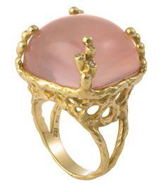 La Vie en Rose: anillos