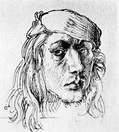 Self-Portrait, 1493, Albrecht Dürer