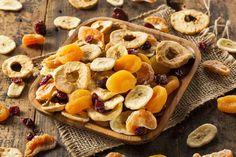 Hacer fruta deshidratada