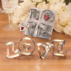 Heart and love theme or shape wedding favors, bridal shower party favors & decorations. Also great for valentine's day parties. Wedding Shower Favors, Unique Wedding Favors, Gifts For Wedding Party, Party Gifts, Unique Weddings, Wedding Day, Wedding Stuff, Dream Wedding, Wedding Prep