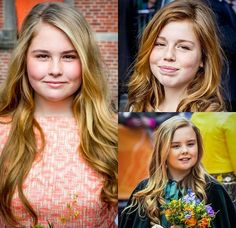 Princesses Amalia, Alexia, and Ariane of The Netherlands. Daughters of King Willem-Alexander and Queen Maxima of The Netherlands. Dutch Princess, Dutch Queen, Royal Princess, Prince And Princess, Queen Maxima, Queen Letizia, Happy King, Queen Of Sweden, Royal Families Of Europe