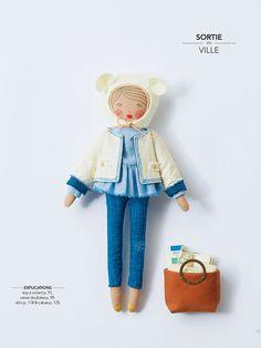 Livre : Poupée à coudre | MilK - Le magazine de mode enfant