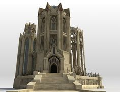 Elven Temple | 3D Models and 3D Software by Daz 3D