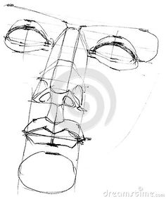 greek statue sketch - Google Search