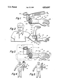 Patent US4824097 - Puppet-on-the-arm illusion device - Google Patents