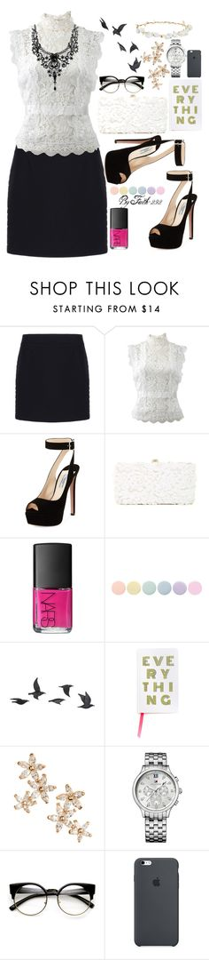 """everything"" by faith-292 ❤ liked on Polyvore featuring Balenciaga, Oscar de la Renta, Prada, Deux Lux, NARS Cosmetics, Deborah Lippmann, Jayson Home, Bonheur, Tommy Hilfiger and Robert Rose"