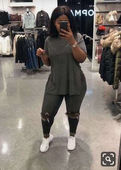 Curvy fashion, urban fashion, i love fashion, girl fashion, vestido tumb Thick Girls Outfits, Curvy Girl Outfits, Plus Size Outfits, Trendy Outfits, Fashion Outfits, Thick Girl Fashion, Curvy Fashion, Plus Size Fashion, Modest Fashion