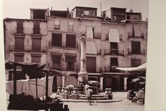 Plaza del torico Aragon, Past, Street View, Drawings, Buildings, Painting, 3d, Image, War