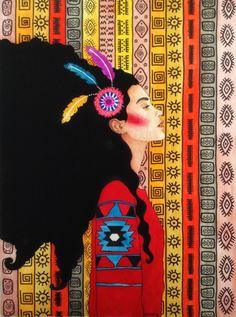 Por amor al arte: Hülya Özdemir Art And Illustration, Illustrations, Painting Inspiration, Art Inspo, Instalation Art, Kunst Inspo, Portrait Art, Portraits, Art Pictures
