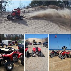 Silver Lake Sand Dunes Roost with @sethharkema  Thanks for the submit!  #silverlake #sanddunes #quad #quadroost #roosting #gotsandslsd