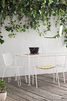 Sun-savvy outdoor furniture. Pinned to Garden Design - Outdoor Furniture by Darin Bradbury.