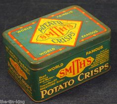 antique art deco tin smiths criscps 1920-30's