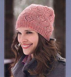 (+2) Рукоделие для всех! Вязаная шапочка 'Ветви' (rest.hobby.rukodelieby)…