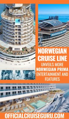 NEWS + VIDEO: Norwegian Cruise Line unveils more Norwegian Prima entertainment and features! #cruiseguru #norwegiancruisenews #norwegianprima Cruise Tips, Cruise Vacation, How To Book A Cruise, Norwegian Cruise Line, Vegas Style, Cruise Destinations, Set Sail, Surfs, Galveston