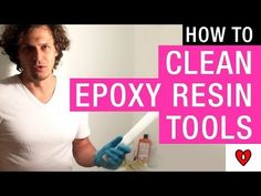 How to Clean Epoxy Resin Tools – ArtResin