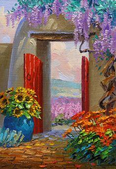 Oil Painting by Mikki Senkarik