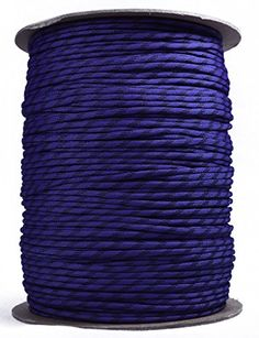 BoredParacord Brand Paracord 1000 ft Spool  Raven *** Learn more by visiting the image link.(This is an Amazon affiliate link and I receive a commission for the sales)