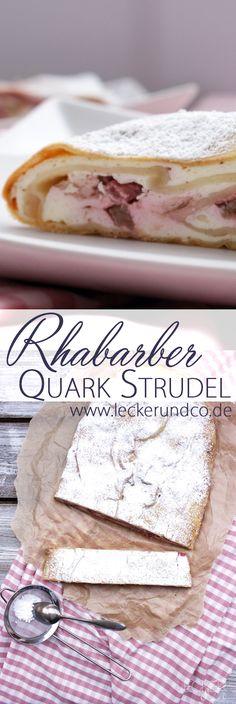 Food N, Diy Food, Good Food, Food And Drink, Yummy Food, Food Ideas, Bavarian Recipes, Bavarian Food, Rhubarb Recipes