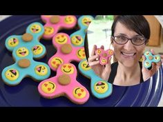 How to Make Fidget Spinner Cookies - Red Ted Art's Blog